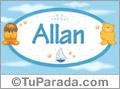 Nombre para bebé, Allan