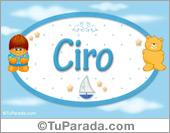 Ciro - Nombre para bebé