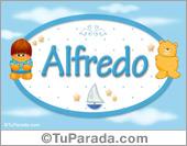 Alfredo - Nombre para bebé