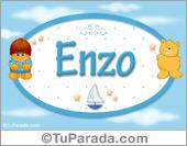 Enzo - Nombre para bebé