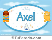Axel - Nombre para bebé