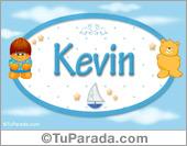 Nombre para bebé, Kevin