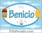 Benicio - Nombre para bebé