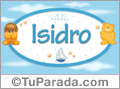 Nombre para bebé, Isidro