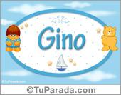Gino - Nombre para bebé
