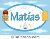 Nombre para bebé, Matías