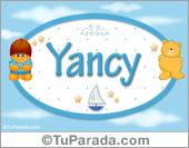 Nombre para bebé, Yancy