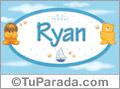 Nombre para bebé, Ryan