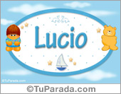 Lucio - Nombre para bebé