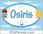 Nombre para bebé, Osiris
