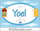 Nombre para bebé, Yoel