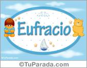 Eufracio - Nombre para bebé