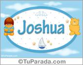Joshua - Nombre para bebé