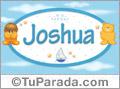 Nombre para bebé, Joshua