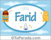 Farid - Nombre para bebé