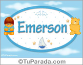 Emerson - Nombre para bebé
