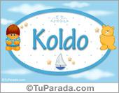 Koldo - Nombre para bebé