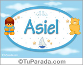 Nombre para bebé, Asiel