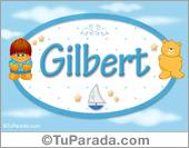 Gilbert - Nombre para bebé