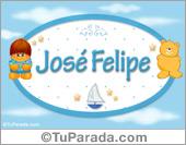 José Felipe - Nombre para bebé