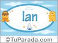 Ian - Nombre para bebé