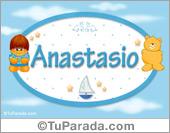 Anastasio - Nombre para bebé