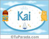 Kai - Nombre para bebé