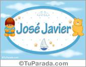 José Javier - Nombre para bebé