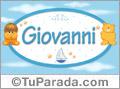 Nombre para bebé, Giovanni