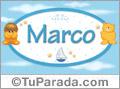 Nombre para bebé, Marco