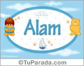 Alam - Nombre para bebé