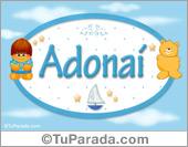 Adonaí - Nombre para bebé