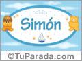 Nombre para bebé, Simón