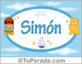 Simón - Nombre para bebé