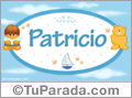 Patricio - Nombre para bebé
