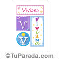 Viviana - Carteles e iniciales