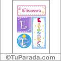 Eleonora - Carteles e iniciales