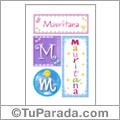 Mauritana, nombre, imagen para imprimir