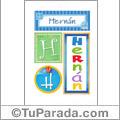 Hernan - Carteles e inciales