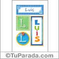 Luis - Carteles e iniciales
