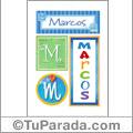 Marcos - Carteles e iniciales