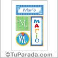 Mario - Carteles e iniciales