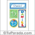 Daniel - Carteles e iniciales