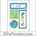 José - Carteles e iniciales