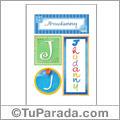 Jhudanny, nombre, imagen para imprimir