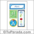 Alois, nombre, imagen para imprimir