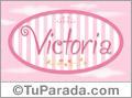 Victoria - Nombre decorativo
