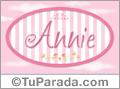 Annie - Nombre decorativo
