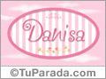 Danisa - Nombre decorativo