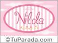 Nilda - Nombre decorativo